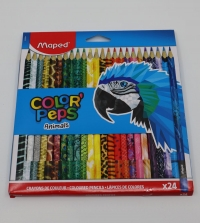 Farebné ceruzky Maped Animals 24ks