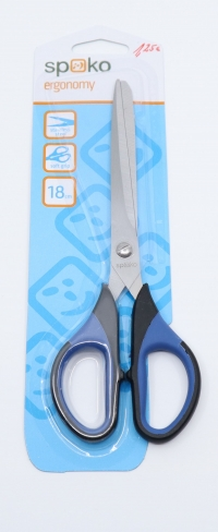 17 cm nožnice Spoko (s pogumovanými rúčkami)