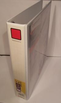 Prezentačný poradač A4 štvorkrúžkový - široký