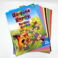 Farebný papier A4 20 listový