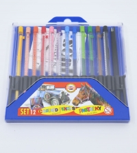 Farebné ceruzky Scala 12 ks (plniace)