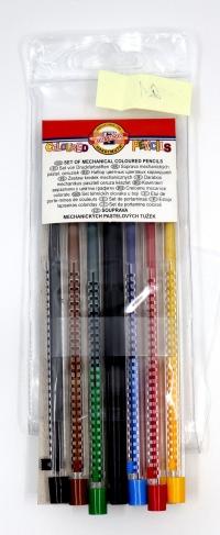 Farebné ceruzky Scala 6 ks (plniace)