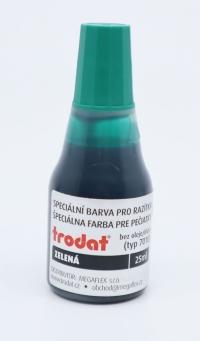 Farba Trodat zelená 28 ml /do samonamáčacích pečiatok
