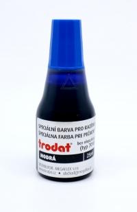 Farba Trodat modrá  28 ml /do samonamáčacích pečiatok