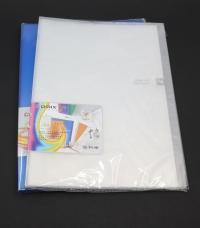 A4 katalógová kniha 30 listová (poradač s priehľadnými zalisovanými obalmi)