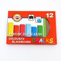 Kriedy farebné 12 ks