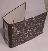 A5 papierový poradač pákový (dĺžka 27, výška 18, hrúbka 8 cm)