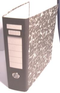 A5 papierový poradač pákový (výška 25, šírka 21, hrúbka 8 cm)