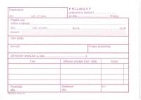 Príjmový pokladničný doklad (samoprepisovací, blok A6, 100 listov)