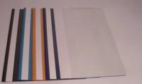 A4 tenký farebný rýchloviazač (PVC s priehľadným predným obalom)