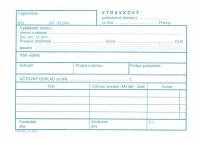 Výdavkový pokladničný doklad (blok A6, 100 listov)