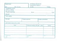 Výdavkový pokladničný doklad (samoprepisovací, blok A6, 100 listov)