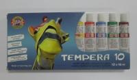 Temperové farby/10 ks - 16 ml