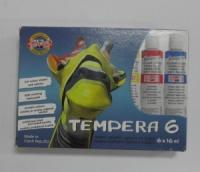 Temperové farby/6 ks - 16 ml