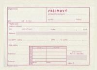 Príjmový pokladničný doklad NOVÝ (blok A6, 100 listov)