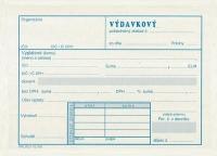 Výdavkový pokladničný doklad Nový (blok A6, 100 listov)