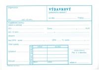 Výdavkový pokladničný doklad Nový (samoprepisovací, blok A6, 100 listov)