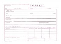 Príjmový pokladničný doklad DAŇOVÝ (samoprepisovací, blok A6, 100 listov)