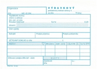 Výdavkový pokladničný doklad DAŇOVÝ (blok A6, 100 listov)