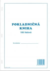 Pokladničná kniha nečíslovaná,100 listová
