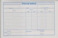 Účtovný doklad (blok A5, 100 listov)
