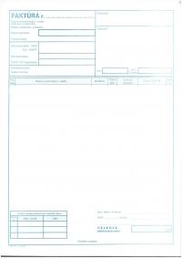 Faktúra A4 (samoprepisovací, blok 100 listov)