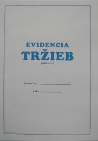 Evidencia tržieb A4 (12 str.na 1 rok )