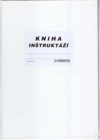 Kniha inštruktáží - školení (A4, tvrdá väzba, 96 strán)