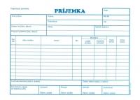 Príjemka A5 (samoprepisovací, blok 100 listov)