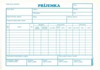 Príjemka s DPH A5 (samoprepisovací, blok 100 listov)