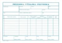 Príjemka-výdajka-prevodka A5 (samoprepisovací, blok 100 listov)