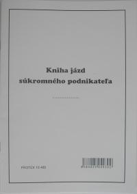 Kniha jázd súkromného podnikateľa (zošit A5)