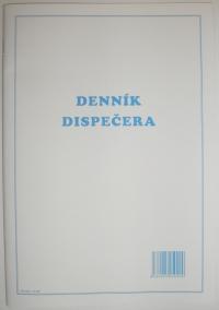 Denník dispečera (zošit A4, 50 listov)