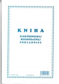 Kniha elektronickej registračnej pokladnice (ERP), A4, 96 str., v mäkkej väzbe