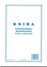 Kniha elektronickej registračnej pokladnice (ERP), A4, 96 str., tvrdá väzba