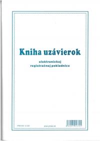 Kniha uzávierok elektronickej registračnej pokladnice (ERP), A4, 96 strán, mäkká väzba