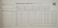 Príkaz na prácu a výkaz práce (blok 2/3 A4, 150 listov)