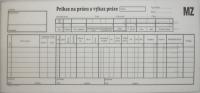 Príkaz na prácu a výkaz práce (samoprepisovací blok 2/3 A4, 150 l.)