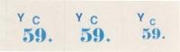 Šatňový blok 3-dielny Y  (blok 100 listov)
