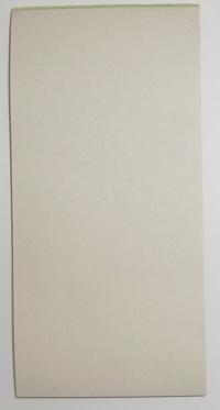 Čašnícke účtenky recyklované (recyklovaný blok 15x7 cm, 100 listov, bez potlače)