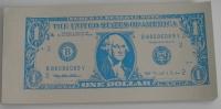 Čašnícke účtenky - dolárovky (blok 15x7 cm, 100 listov)