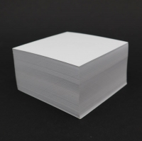 9x9 cm čistý poznámkový blok (kartón, 220 listov)