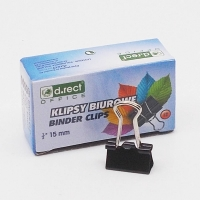Binder klip 15 mm - krabička