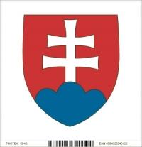 Štátny znak Slovenskej republiky (10 x 10 cm)