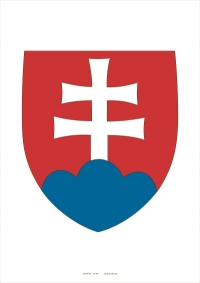 Štátny znak Slovenskej republiky A4 (laminovaný)