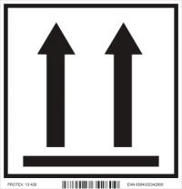 """Piktogram """"Horná strana balíka"""" (10x10 cm)"""