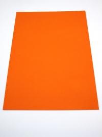 A4, Pomaranč 250g kreatívny papier