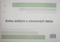 Kniha došlých - odoslaných faktúr (A4 na ležato)