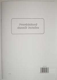 Prevádzkový denník kotolne