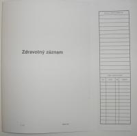 Zdravotný záznam - kartón